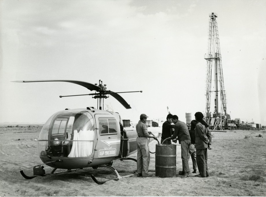 Pozzi petroliferi in Marocco, 1959.jpg